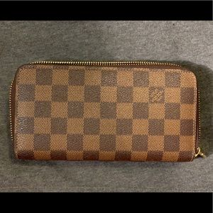 Louis Vuitton Double Zippy Wallet